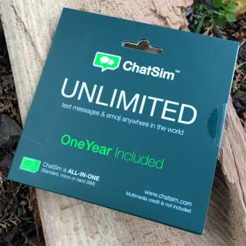 Como funciona Chatsim 2 en España