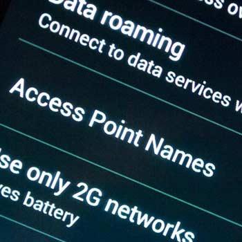 Cómo configurar el APN en android