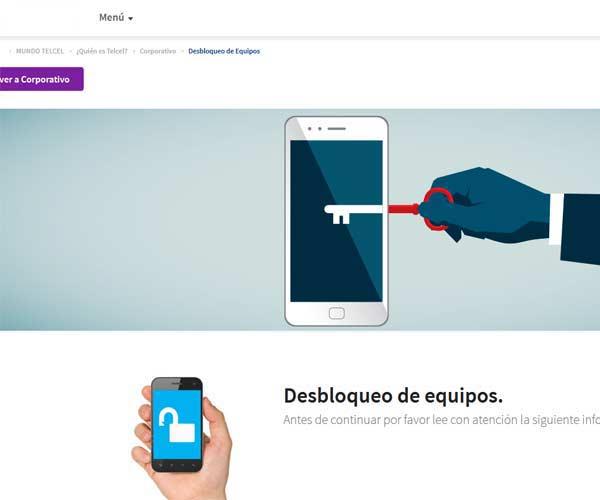 Desbloquear online gratis un celular Telcel México
