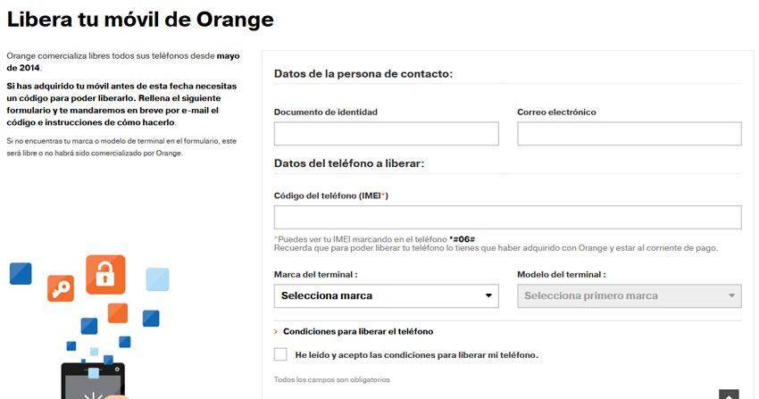 Desbloquear iPhone Orange España