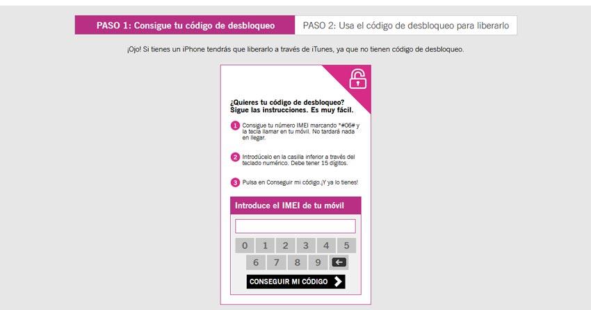Desbloquear iPhone Yoigo España