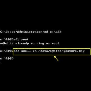 Eliminar archivo de contraseñas con ADB