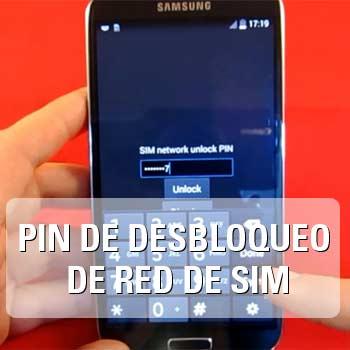 PIN de Desbloqueo de Red de Tarjeta SIM