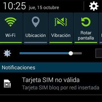 Solución al error de Tarjeta SIM no válida