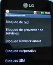 Solucionar error de codigo en moviles LG (El telefono no esta personalizado)